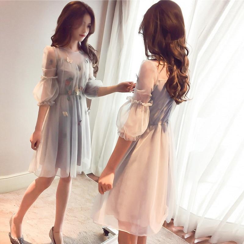 kid girls dress summer 2019 teenage fashion children frock party dress for teen girl clothes set