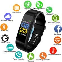 LIGE 2019 New Smart bracelet Fitness tracker Men Women Heart Rate Monitor Blood Pressure Sport Smart