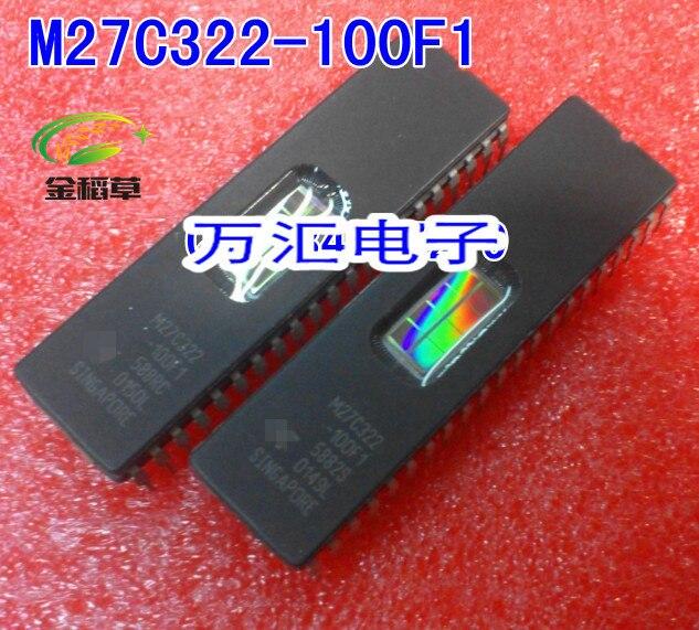 Envío gratis 10 unids/lote M27C322-100F1 M27C322 DIP-42 nuevo IC original en stock circuito integrado EPROM nuevo
