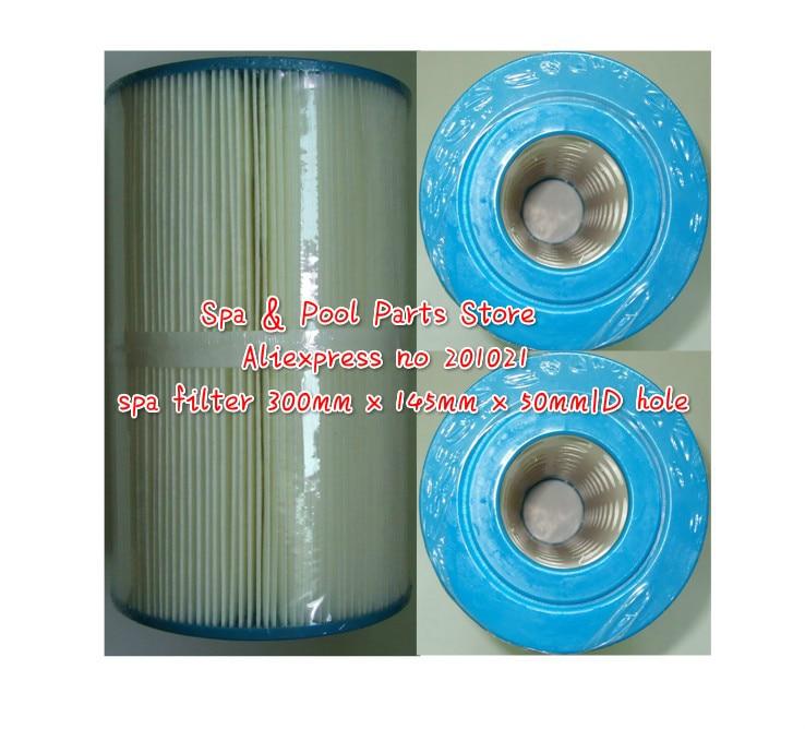 Hot banheira de hidromassagem filtro 300mm x 145mm x 50mm ID buraco substituição Unicel C-5624 Pleatco PJW25 Filbur FC-1305 Darlly 50504