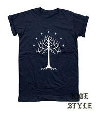 Tree Shirt Tree of Gondor T-shirt Unisex Lotr Fellowship Gift Present Top Tee