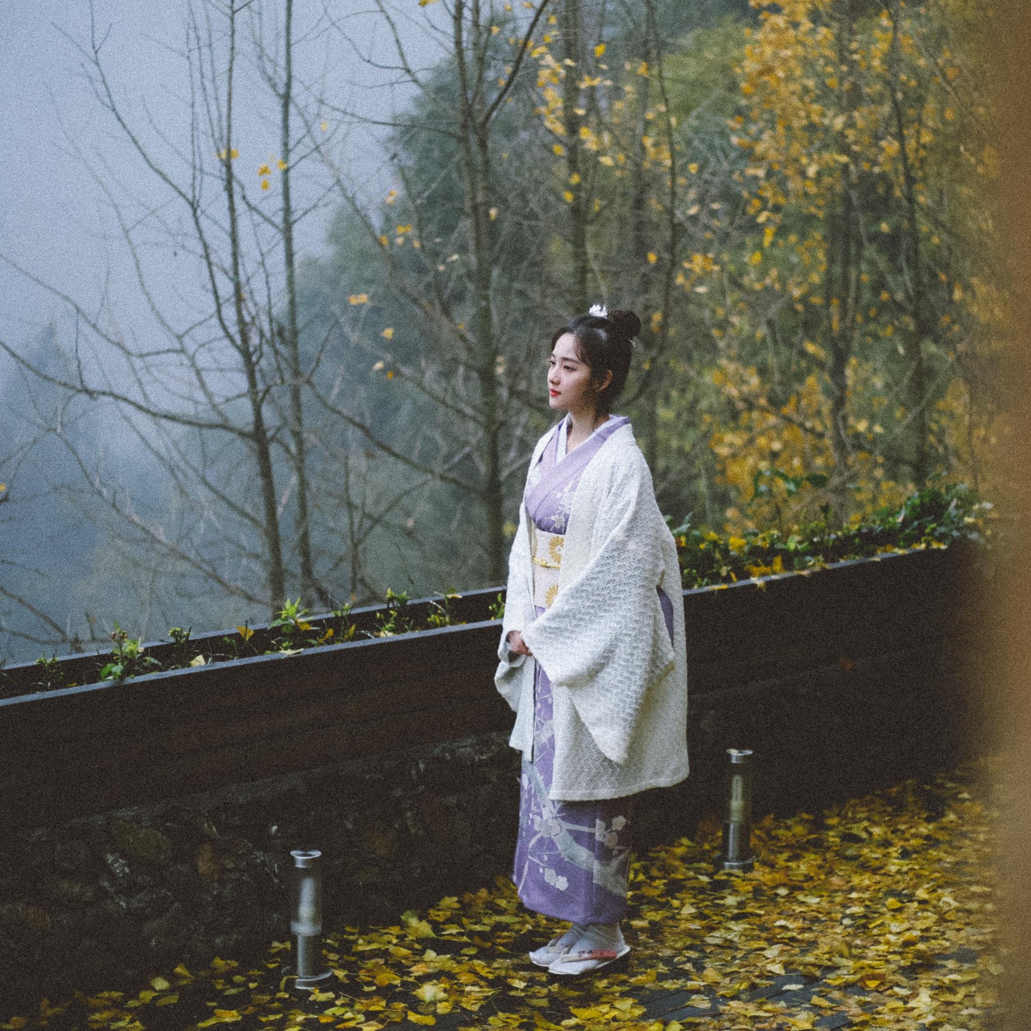 Elegante blanco Kimono para chicas abrigo primavera otoño estilo japonés prendas de vestir manga larga chaqueta de las mujeres del traje de Cosplay de un tamaño