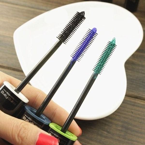 Multi-Color largo cosmético rizo de fibra máscara de pestañas extensión Grower maquillaje caliente
