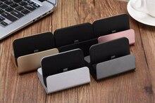 Für iphone X 8 7 6 s Desktop Ladegerät Dock Station USB Sync Adapter Mobilen Smartphone Lade Gerät Für samsung S10 S9 S8 plus