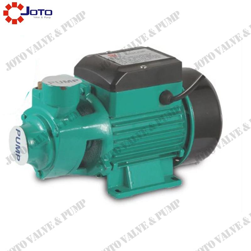 Envío Gratis 1/2 HP 0,37 KW QB60 bueno 110 v/220 v bomba de agua centrífuga eléctrica Jardín de la piscina