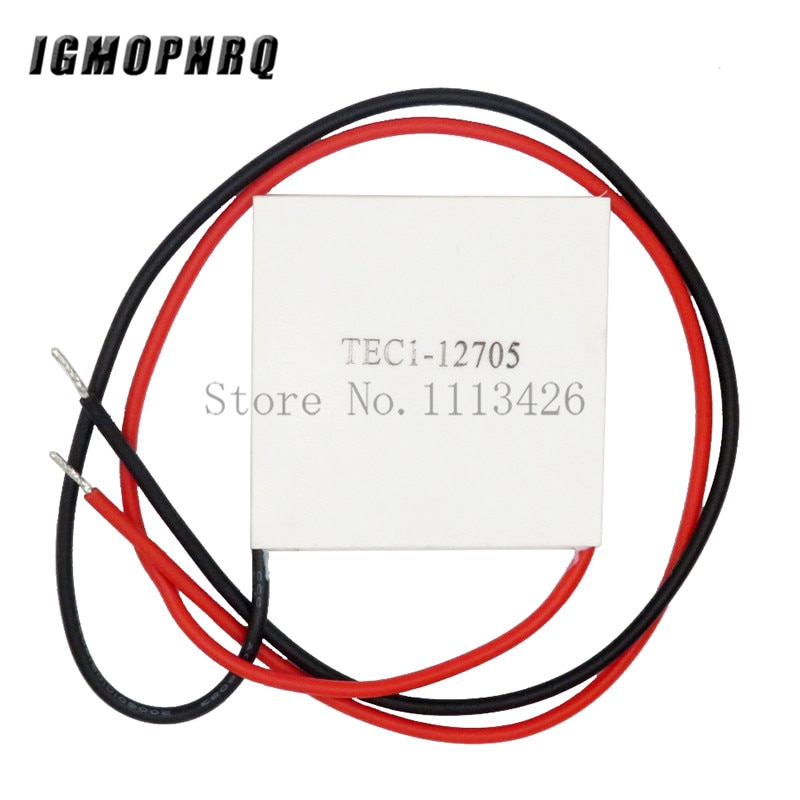 5 pces TEC1-12705 termoelétrico cooler peltier 12705 12v 5a peltier células tec12705 peltier módulo