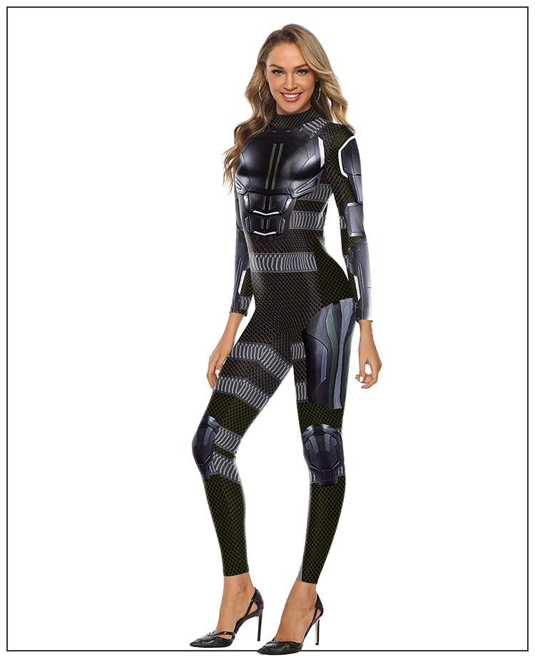 Cosmos PLstar Novas Mulheres/menina The Avengers Black Panther Traje Cosplay Bodysuit Macacões Terno do Dia Das Bruxas Natal terno-18