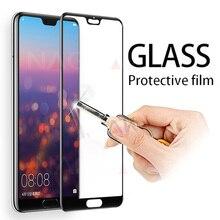 Schutz Glas auf die Für Huawei P20 Lite P20 Pro Gehärtetem Screen Protector 0,26mm 2,5 D Rand Glas Für huawei P20 Lite Film