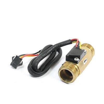 SEN-HZ21WI G1/2 macho 1-30L/min latón flujo de agua Hall Sensor interruptor caudalímetro