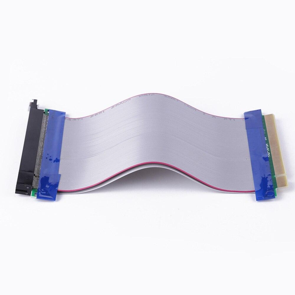 Для BitCion PCI Express Riser 1 шт. 15 см PCI Express PCI-E 16X Riser Card Extender Гибкий Удлинительный кабель