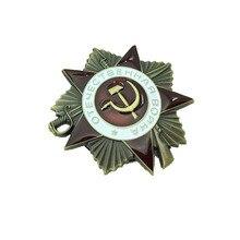 Badge Ussr Orde Van De Rode Ster Award Russische Wwii Medaille Zeldzame Donkere Kleur Sovjet