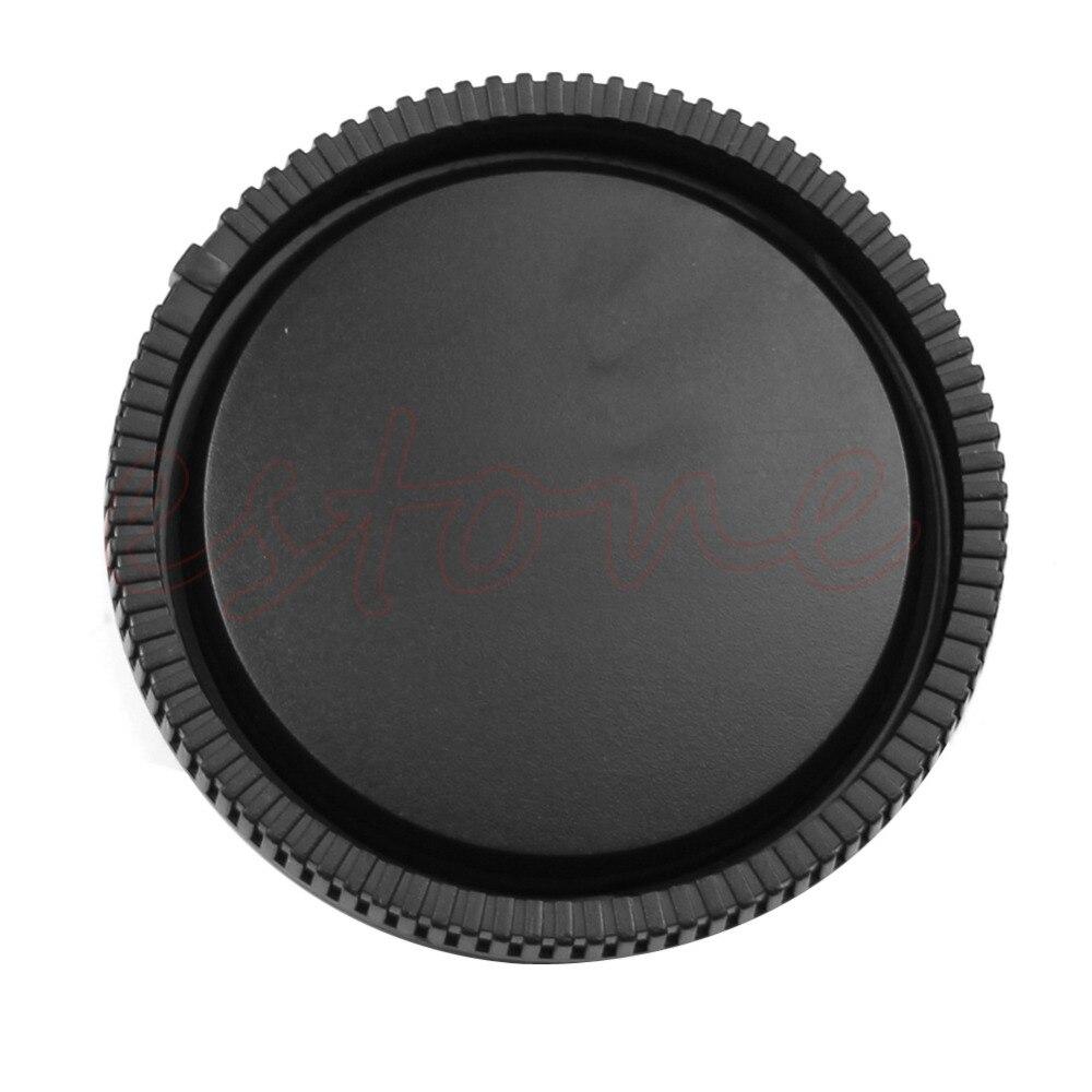 1 tapa de lente trasera cubierta de Cuerpo de Cámara para Sony e-mount NEX-3 NEX-5 negro