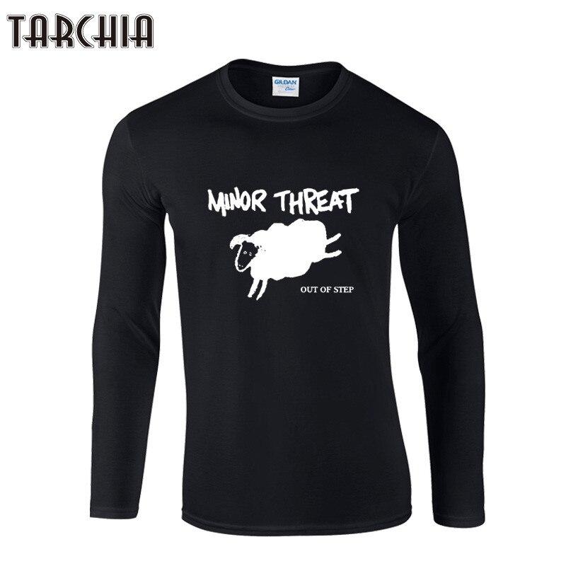 TARCHIA/бесплатная доставка, Большая распродажа, Мужская футболка с длинными рукавами и галстуком, футболка из 100% хлопка для мальчиков и женщин, модная футболка, большие размеры