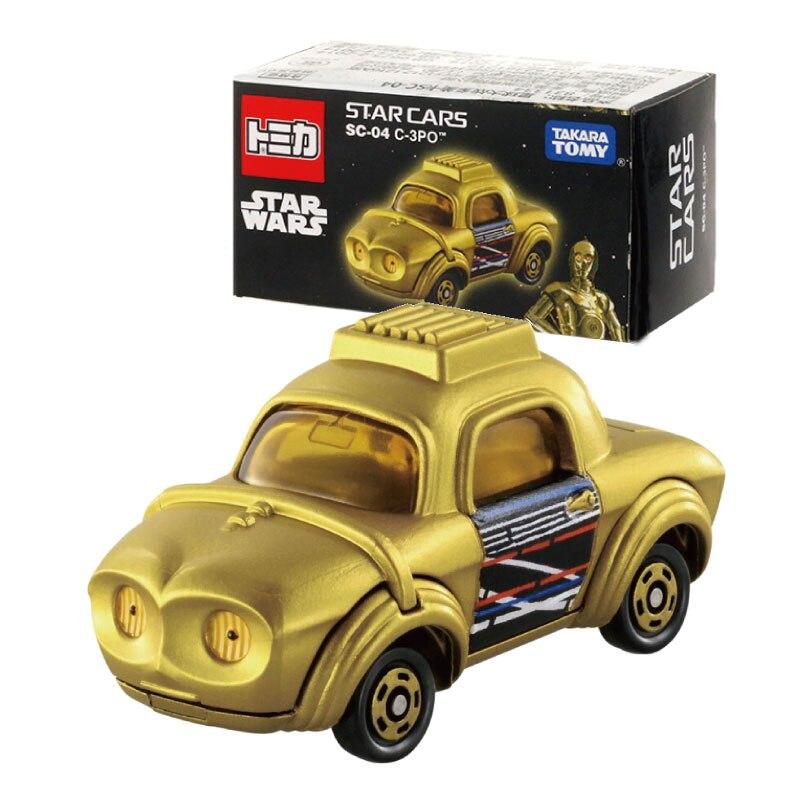 Takara Tomy Tomica Star Wars SC-04 C-3PO Metal FUNDICIÓN vehículos coches de juguete nuevo 831334