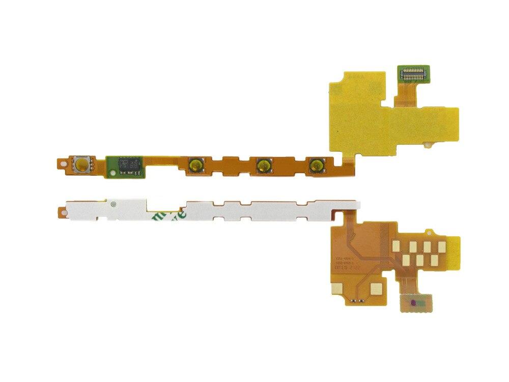Para Sony Xperia P LT22i Cable de Tecla lateral Flexible botón de...