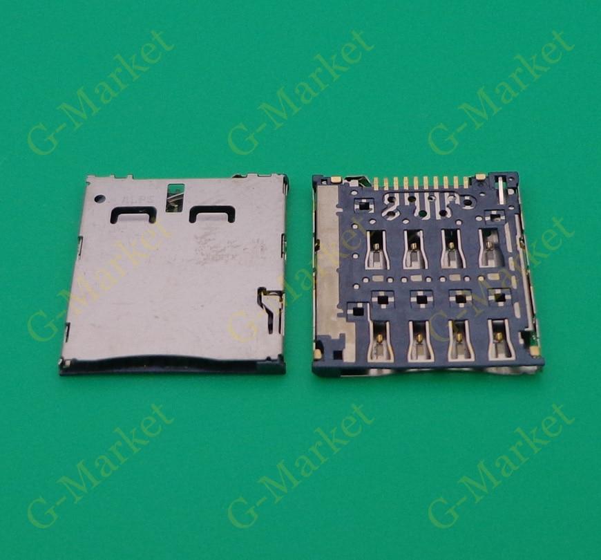 Nueva marca para Alcatel One Touch idol ultra OT 6033 OT-6033 6033X conector del lector de tarjetas SIM módulo hembra