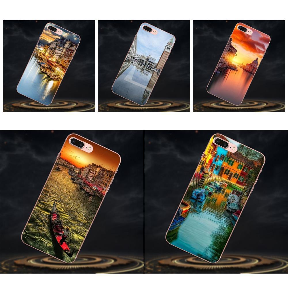 Novedad de la cubierta de la caja del teléfono de Venecia Italia para Galaxy A3 A5 A7 On5 On7 2015, 2016 de 2017 gran alfa G850 Core2 primer S2 I9082
