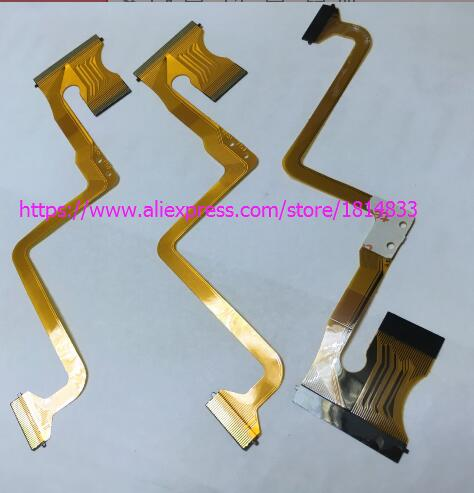 20 PCS/NEW LCD Flex Cable Para JVC GZ-MS120 MS123 MS130 HM200 Vídeo Repair Camera Parte