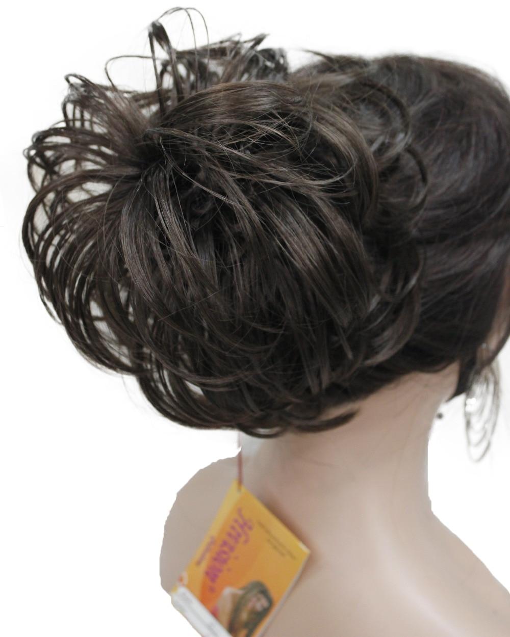 Extensiones de Cabello sintético StrongBeauty para Ballet, moño de rosquilla para coleta