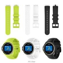 Bracelet de remplacement en Silicone Bracelet de montre Bracelet pour Ticwatch S Smartwatch-Knight S927