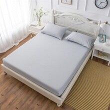 Sábana ajustada, sábanas, Funda de colchón, funda de almohada, funda de cama, ropa de cama con banda elástica, individual, doble, Full Queen King