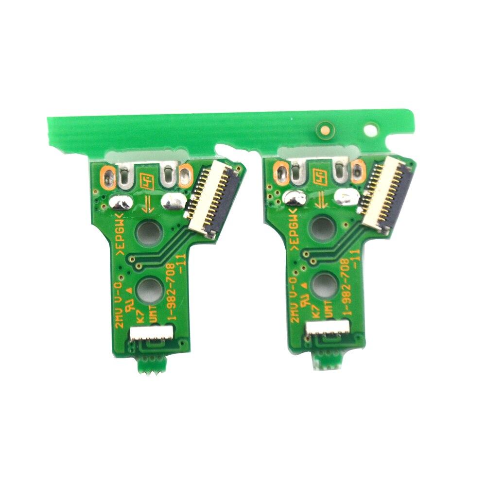 100PCS Triangular mainboard JDS-055 version 050 Charging borad USB Charging Port Board for PS4 wireless Dualshock 4 controller