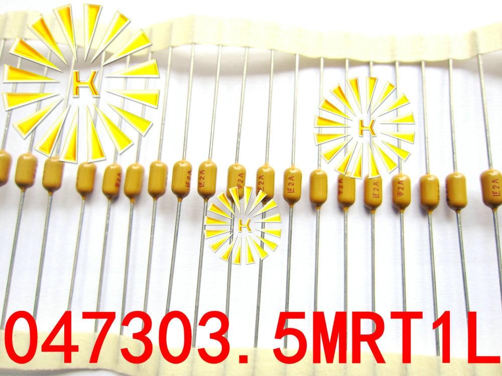 100% Original si 0.5A 1A 1.5A 2A 3A 3.5A 4A 5A 7A 125V 3*7mm axiales amarillo fusible 0473 lenta PICO fusible resistor x100PCS
