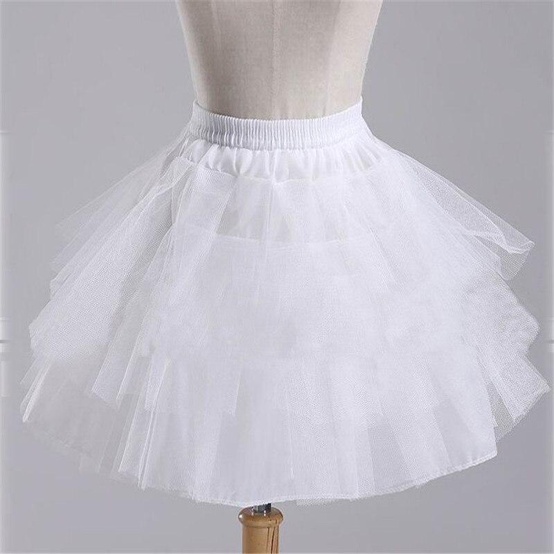 Белая и черная балетная юбочка, новинка 2020, свадебные аксессуары, короткий кринолиновый подъюбник для девушек