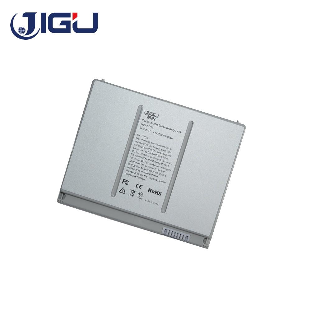JIGU بطارية كمبيوتر محمول A1175 MA348 ل أبل ماك بوك برو 15