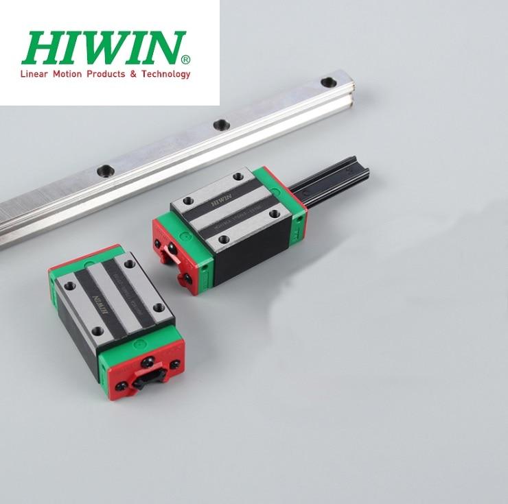 1 pcs 100% الأصلي Hiwin HGR30-1300MM دليل خطي السكك الحديدية + 2 pcs HGH30CA الخطي ضيق كتل ل cnc