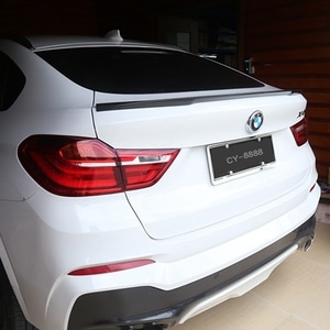 F26 M Style 2014 2015 2016 For BMW X4 F26 Carbon Fiber Car Rear Trunk Spoiler Add On for Back Spoiler Wing