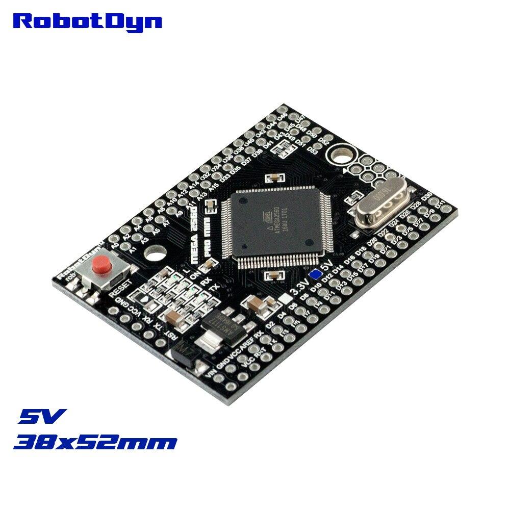 Mega 2560 PRO MINI 5 V, ATmega2560-16AU, без pinheaders. Совместим с Arduino Mega 2560.