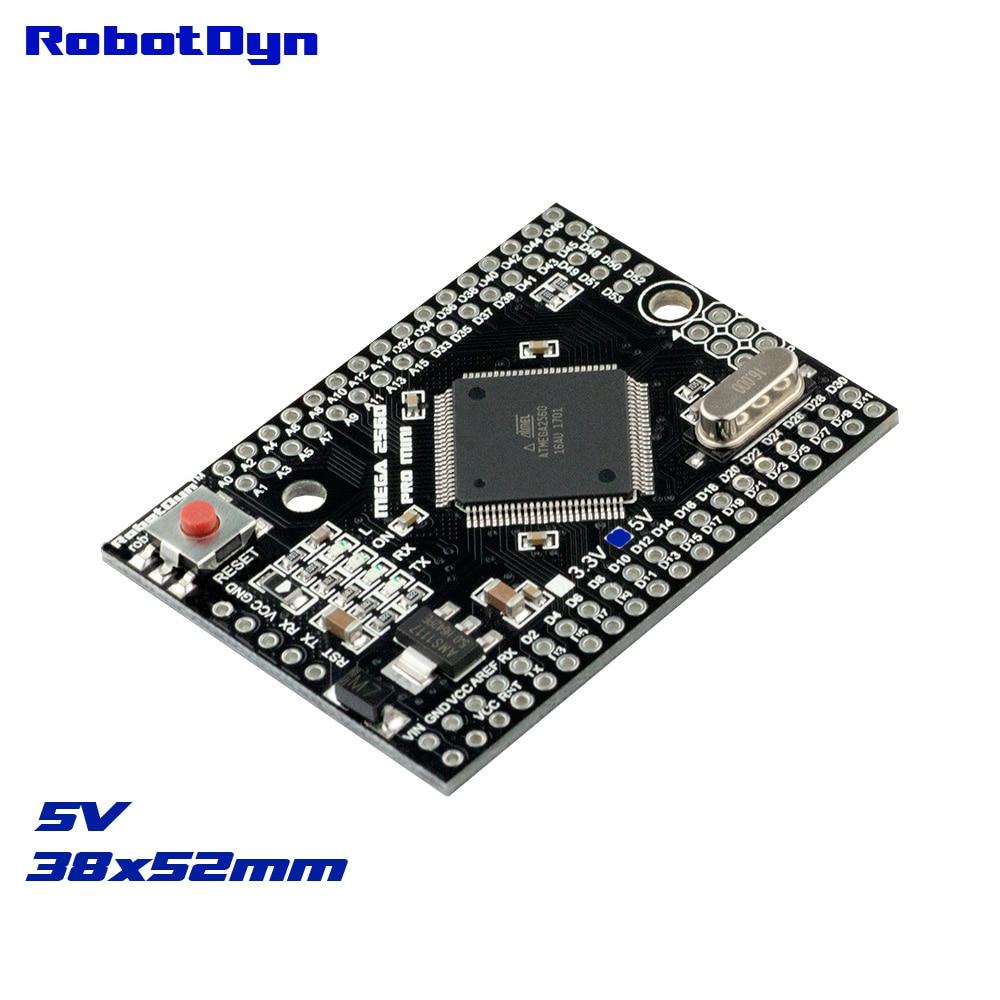 Mega 2560 PRO MINI 5V, ATmega2560-16AU, NO pinheaders. Compatible for Arduino Mega 2560.