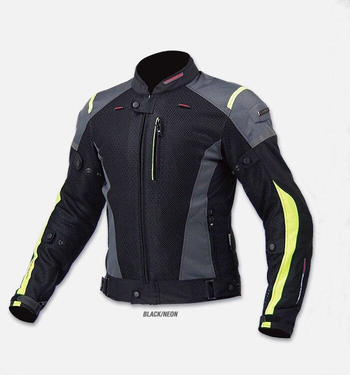 Envío Gratis JK KOMINE-069 tela de punto de alta calidad de carreras de motocicleta traje chaqueta cubierta protección dispositivo de distribución