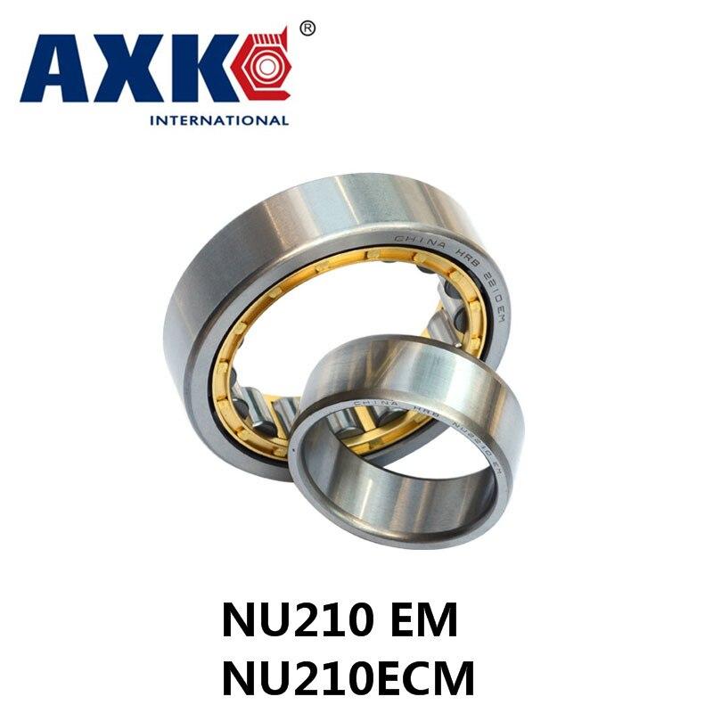 Axk Nu210 Em o Nu210ecm (50x90x20mm) rodamientos cilíndricos de jaula de latón Abec-1, p0