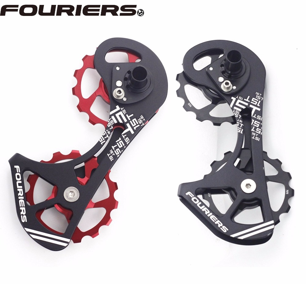 Fourier Kit Gaiola 15 t menor polia Desviador Bicicleta de Estrada Para SHIMANO RD 9000 9070 6800 Ciclismo Traseiro Rolamento de Cerâmica desviador