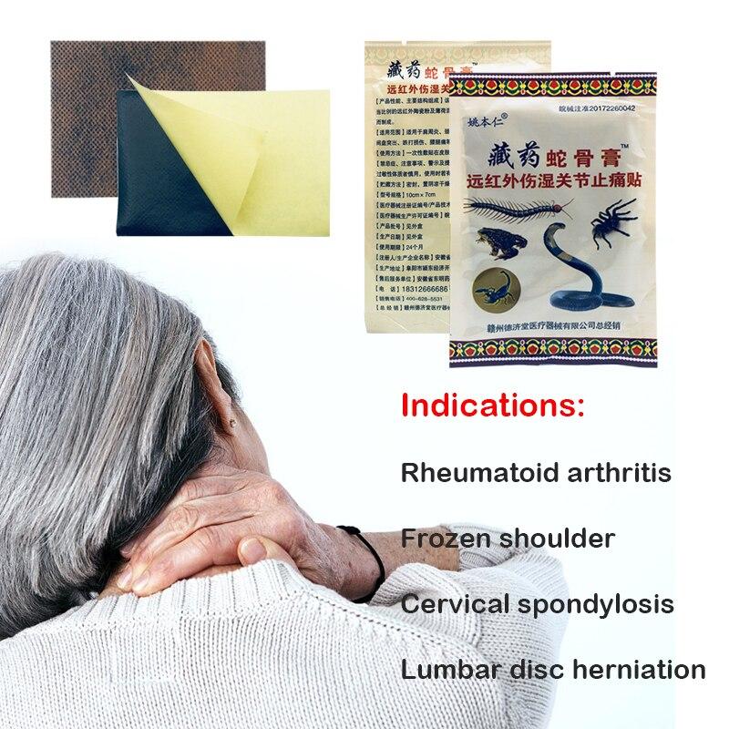 8 pçs super promoção alívio da dor tigre bálsamo médico gesso de dor nas costas dor nas costas dor no pescoço massagem corporal