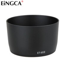 DSLR Camera Lens Hood Cover ET-65 III ET65III for Canon EF 85mm f/1.8 USM 58mm Filter Lens Accessories