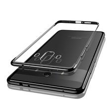Для Huawei Mate 8 9 10 20 Pro силиконовый Ультратонкий Мягкий ТПУ чехол для мобильного телефона P9 P10 Plus P20 Lite P30 Pro покрытие прозрачный чехол