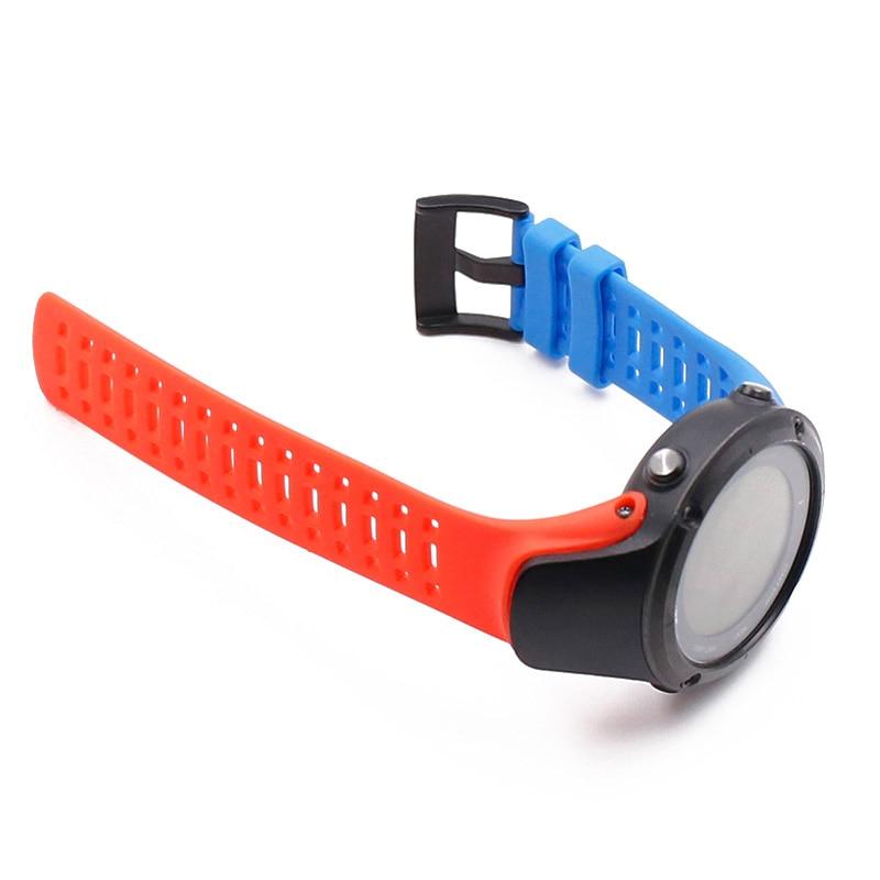 Купить с кэшбэком Silicone rubber watch strap for SUUNTO AMBIT 2S2R3S3R3PEAK sports waterproof and sweat-proof accessories Watch band