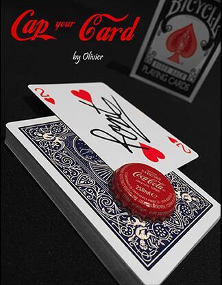 Tapa tu tarjeta de Olivier Pont-trucos de magia