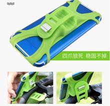 XIAOMI MIJA M365 elektrikli scooter Tavsiye silikon cep telefon braketi karşı şok bisiklet cep telefonu stentleri
