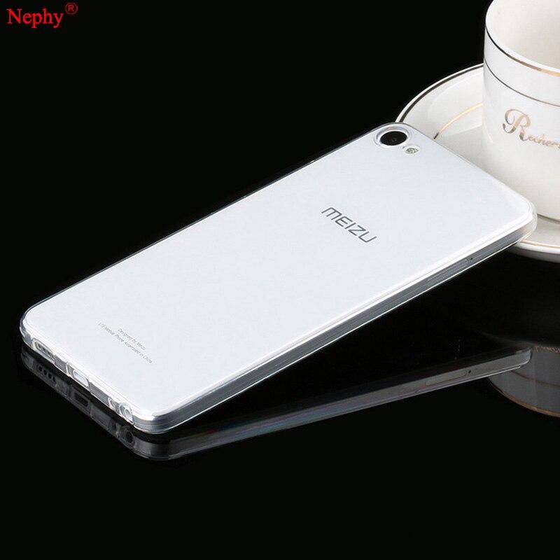 Nephy miękki silikonowy przezroczysty futerał do Meizu M3s mini U10 U20 M3 uwaga Meilan uwaga 3 3s telefon komórkowy tylna okładka Ultra cienka obudowa TPU