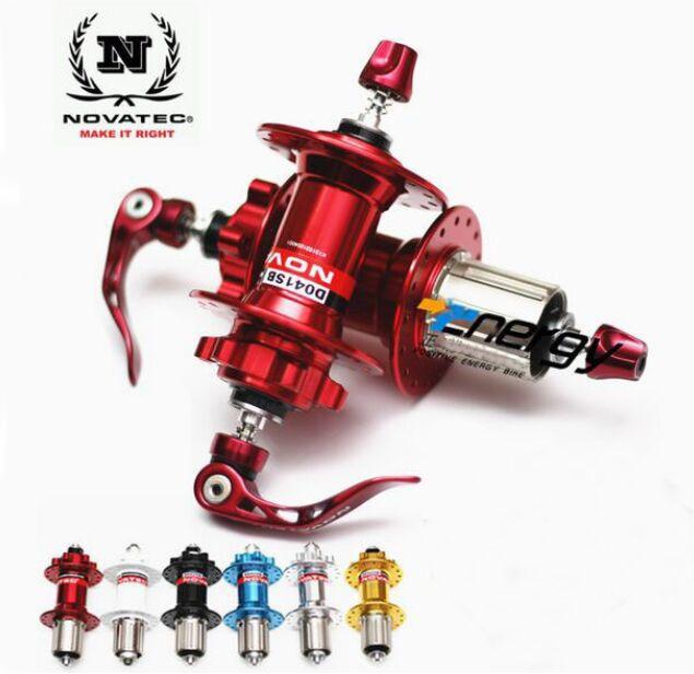 Novatec Hub D041SB D042SB MTB Hub велосипедный передний/задний быстросъемный набор велосипедных концентраторов 4 подшипников BMX отверстия 28 32 36 для ...