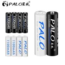 PALO 4 pièces AAA 1.2v NIMH batterie 3A 1100mah aaa batterie Rechargeable aaa ni-mh piles AAA batterie rechargeable pour caméra jouets