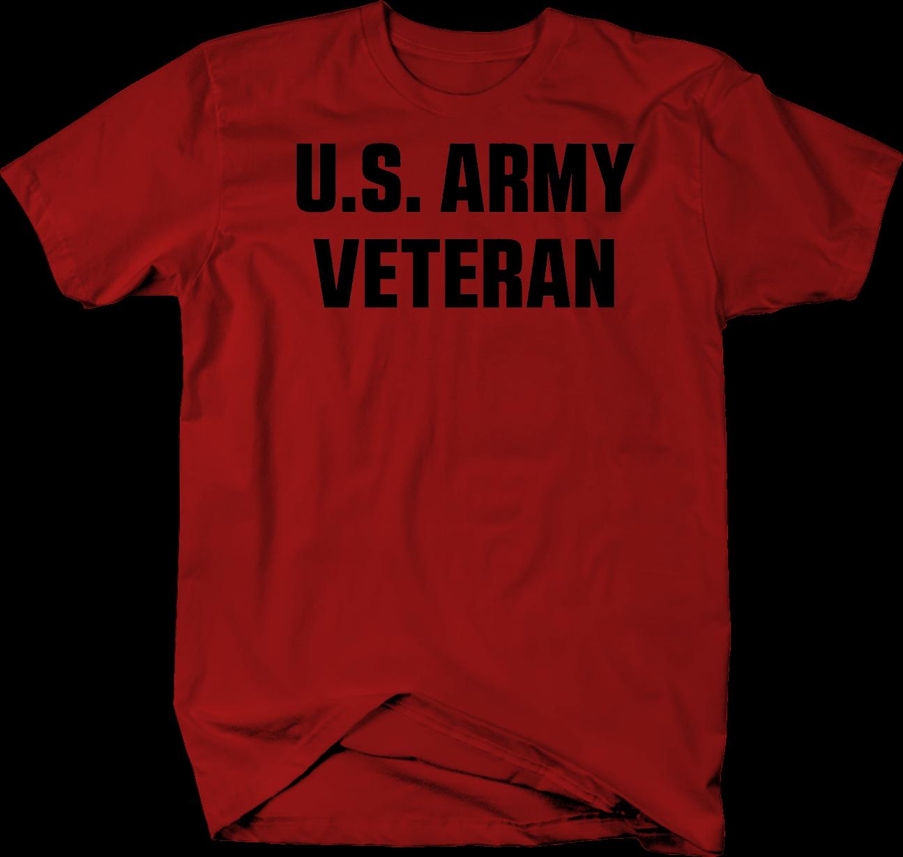 Camiseta de manga corta para hombre del ejército americano veterano militar camiseta de héroe