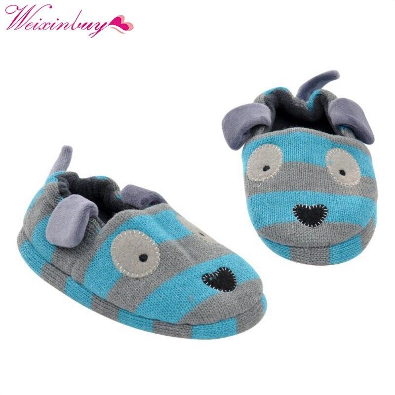 Zapatillas de interior de casa de algodón para bebés, zapatillas de plástico antideslizantes con dibujos animados, nuevas orejas de conejo rosa
