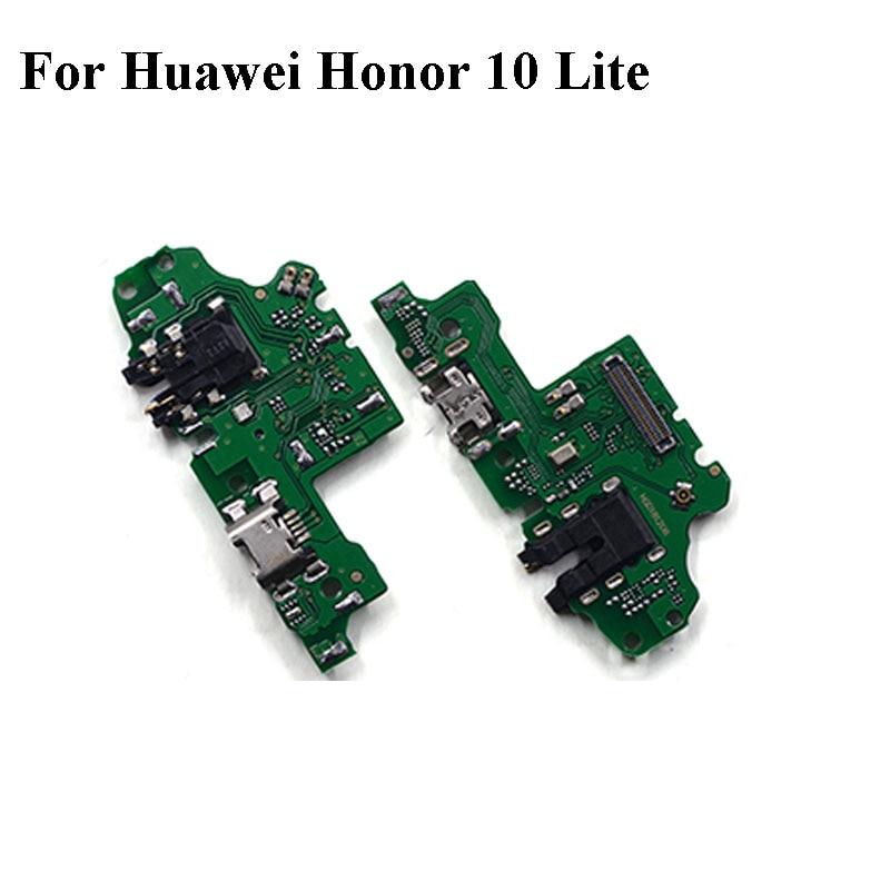 2PCS Original For Huawei Honor 10 Lite 10lite Mobile Phone usb plug charge charging port PCB dock board For Huawei Honor10 Lite