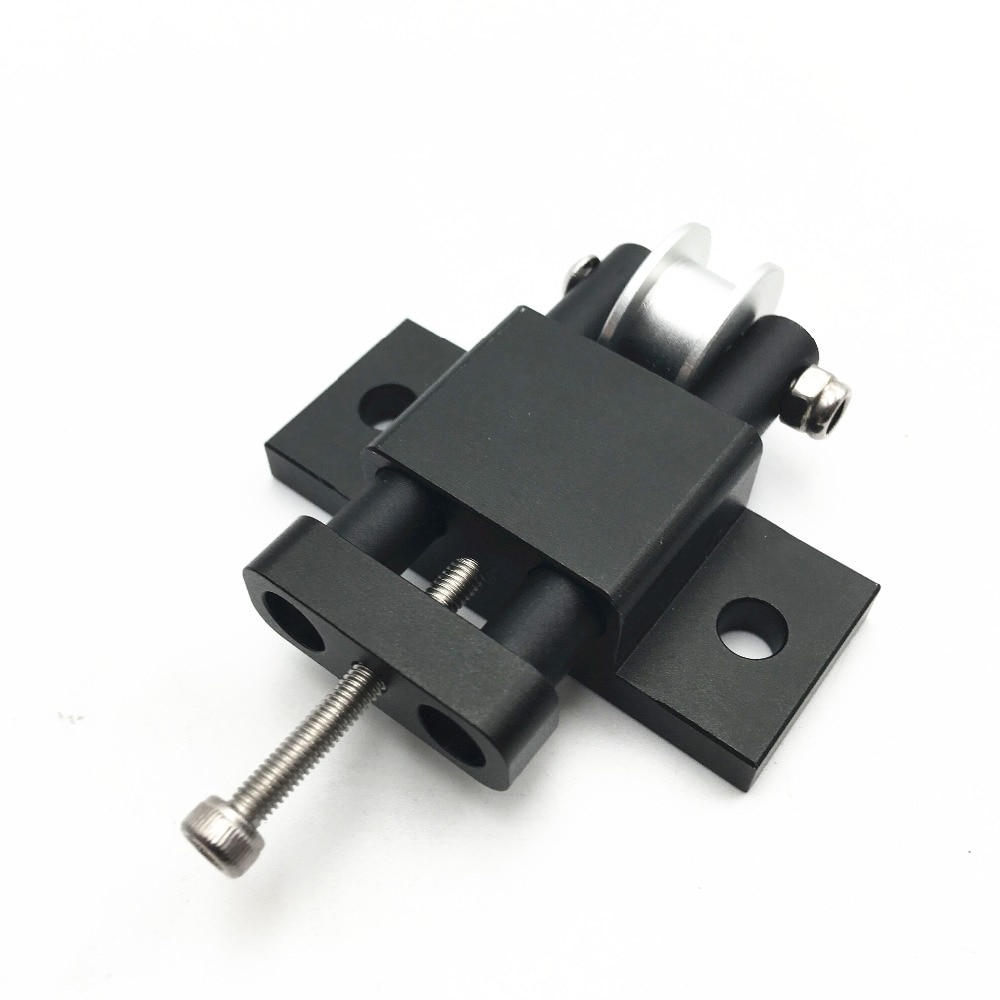 Funssor 1pcs AM8/ Anet A8  aluminum Y axis belt tensioner kit for AM8 3D Printer Extrusion Metal Frame