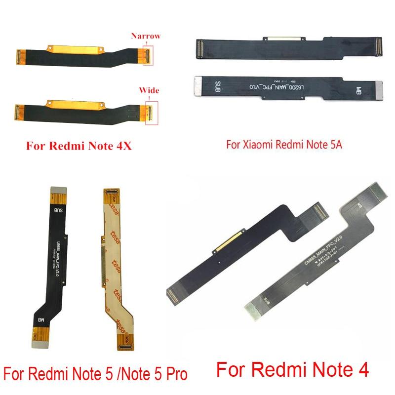 Запасные части материнская плата гибкий кабель лента для Xiaomi Redmi Note 2 3 4x5 6 7 Pro 5A ЖК-разъем ленты